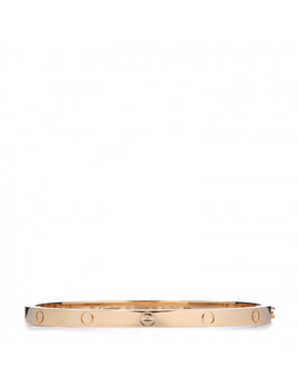 cartier-18k-yellow-gold-small-love-bracelet-15 by cartier