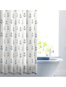anchor-shower-curtain by dunelm