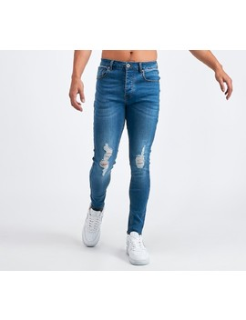 distressed-spray-on-denim-jean-|-mid-wash by asylum