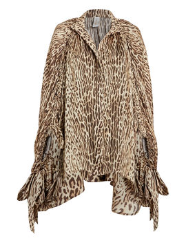 espionage-batwing-leopard-silk-blouse by zimmermann