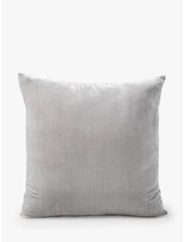 west-elm-lush-velvet-cushion,-platinum by west-elm