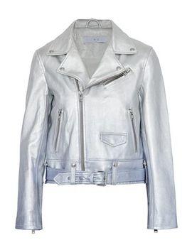 metallic-dégradé-leather-biker-jacket by iro