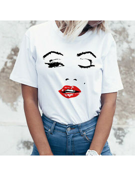 ladies-designer-t-shirt,-celebrity-t-shirt,-fashion-t-shirt,-marilyn-monroe-t70 by ebay-seller