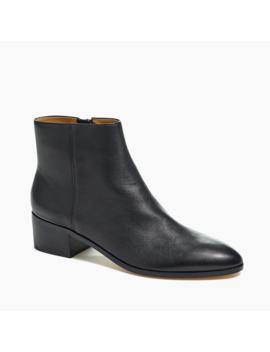 walker-leather-ankle-boots by jcrew