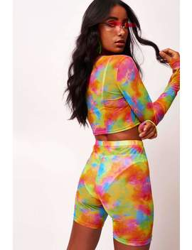 tie-dye-printed-mesh-beach-cycling-shorts by jaded-london