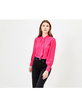 Pussy Bow Blouse by Oasis