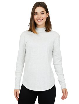 Melange Jersey Knit Top by Suzy Shier
