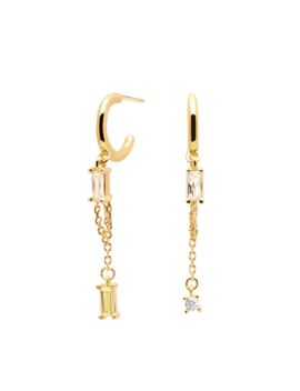 Salma Gold Earrings by P D Paola
