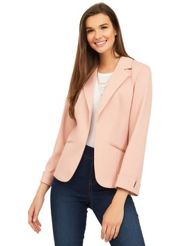 Unlined Knit Blazer by Suzy Shier