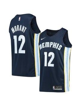 Nike Ja Morant Memphis Grizzlies Navy 2019/2020 Swingman Jersey   Icon Edition by Fans Edge