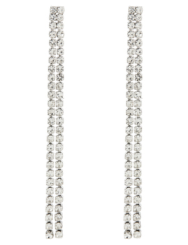 Crystal Cupchain Slinky Drop Earrings by Accessorize