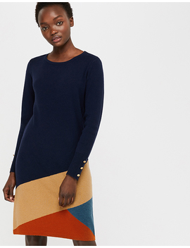 Inga Colour Block Dress by Monsoon