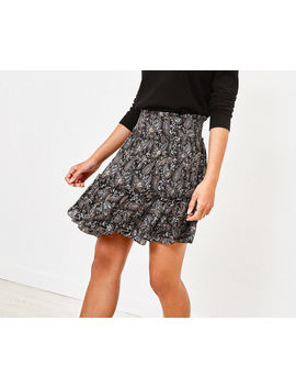 Paisley Sparkle Skirt by Oasis