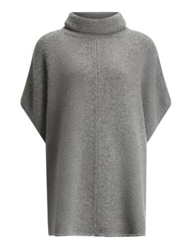 Poncho Wool Cashmere Knit by Joseph