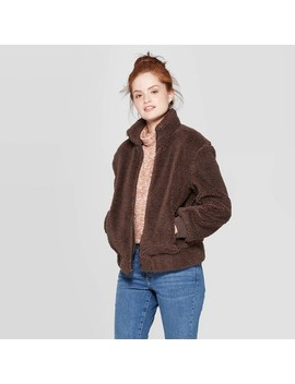 womens-sherpa-bomber-jacket---universal-thread by universal-thread