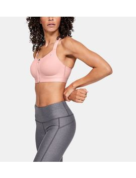 Armour® Eclipse High Zip Women's Sports Bra by Under Armour