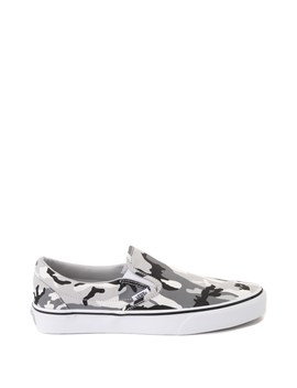 Vans Slip On Skate Shoe   Gray Camo by Vans