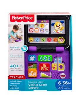 Fisher Price Laugh & Learn Click & Learn Laptop by Fisher Price