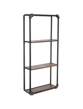 Triple Metal Pipe Shelf by Hobby Lobby
