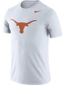Nike Men's University Of Texas Dri Fit Legend Logo T Shirt by Nike