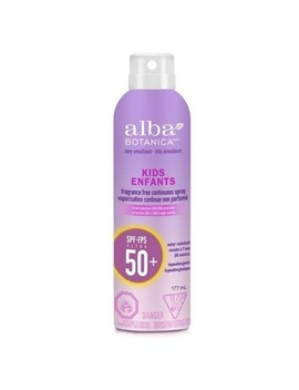 Alba Botanica Very Emollient Kids Continuous Spray Sunscreen Spf 50+ by Well