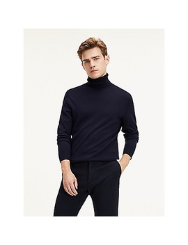 Tommy Hilfiger Tailored Luxury Wool Turtleneck by Tommy Hilfiger