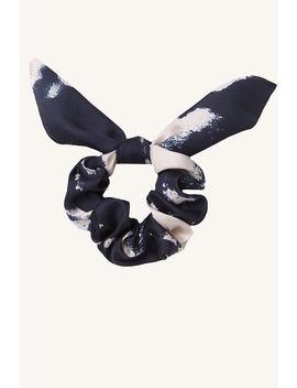 Bow Tie Dye Scruchie by Bardot