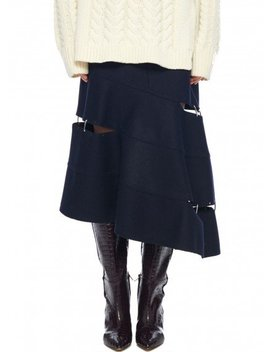Cut Out Trouser Skirt by Tibi