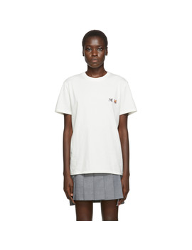off-white-double-fox-head-t-shirt by maison-kitsunÉ