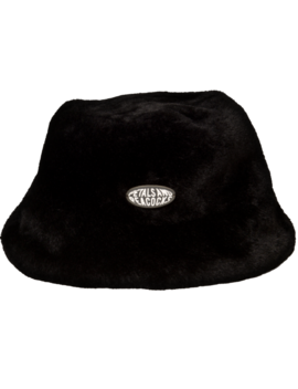 Virtual Insanity Bucket Hat In Black by Petals And Peacocks
