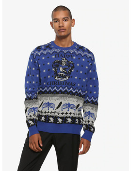 Harry Potter Ravenclaw Ugly Holiday Sweater   Box Lunch Exclusive by Box Lunch