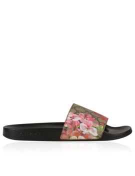 Bloom Gg Sliders by Gucci