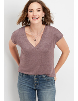 24/7 Solid Dolman Tee by Maurices