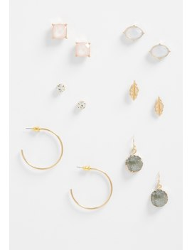 6 Piece Soft Color Earring Set by Maurices