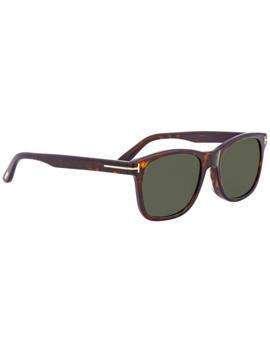Tom Ford Eric Green Rectangular Men's Sunglasses Ft0595 F 52 N by Tom Ford