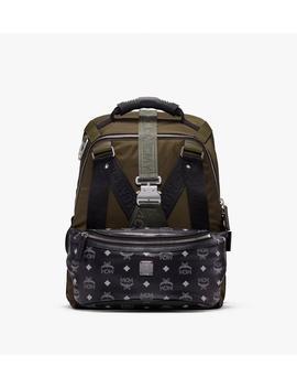 Jemison 2 In 1 Backpack In Logo Nylon by Mcm