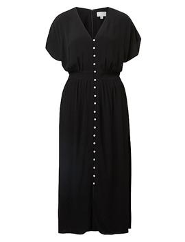 V Neck Button Dress by Witchery