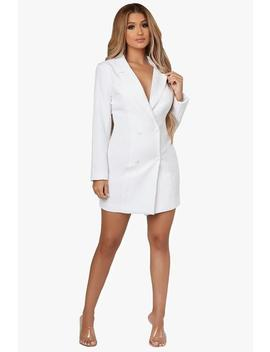 Pleasures Mine Blazer Dress by Honeybum