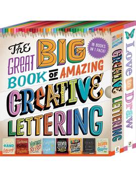 The Great Big Book Of Amazing Creative Lettering by Hinkler Books