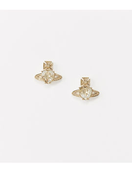 Ariella Earrings Gold Tone  by Vivienne Westwood