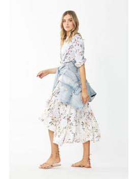 Charlotte Ruffle Wrap Dress by Decjuba