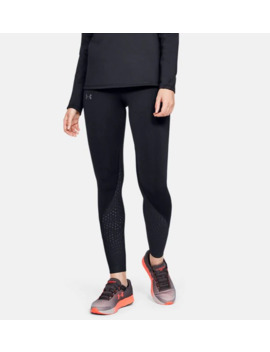 Ua Qualifier Speedpocket Cold Gear®Women's Running Leggings by Under Armour