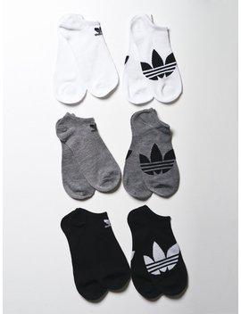 Og Trefoil Sl 6 Pk No Show by Adidasadidas