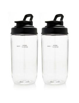 Cook's Companion® Set Of 2 (13.5 Oz) Blending Bottles by Shop Hq