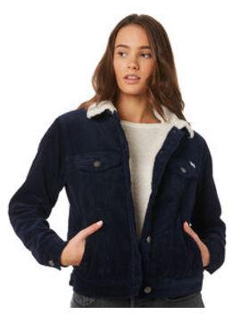 Womens Plush Merc Cord Jacket by Rvca