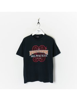 Harley Davidson Milwaukee T Shirt Black Large by Harley Davidson