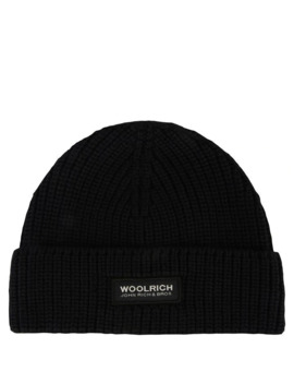 Knitted Wool Beanie by Woolrich