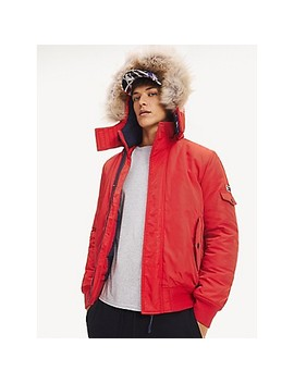 Fur Hood Insulated Jacket by Tommy Hilfiger