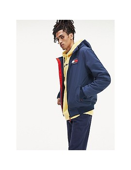 Fleece Lined Hooded Jacket by Tommy Hilfiger