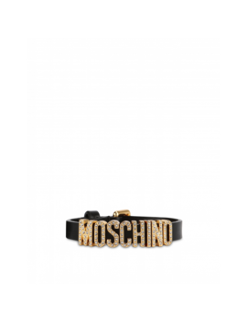 Lettering Jewel Bracelet by Moschino